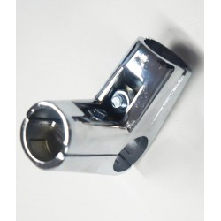 Unión de metal para en L para tubo 25 mm 4 salidas