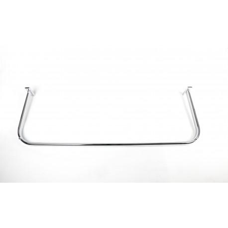 Barra forma U para cremallera 90x30 cm