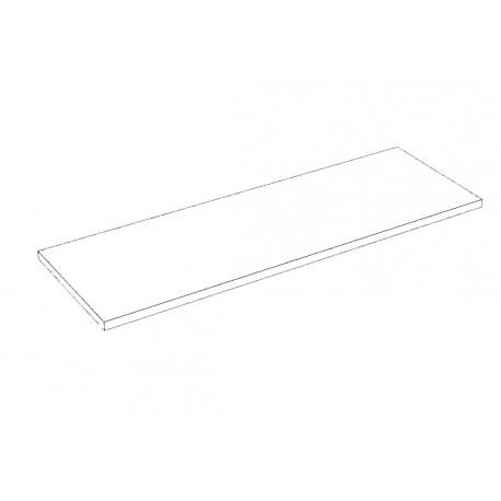 Balda de madera 90x30cm grosor 19mm, color blanco