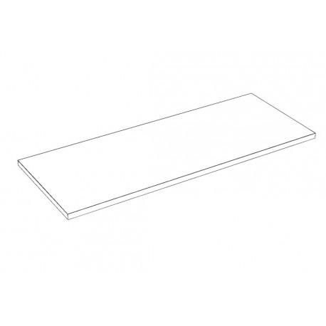 Balda de madera 90x35cm grosor 19mm, color blanco