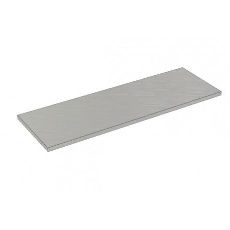 Balda de madera 90x30cm grosor 19mm, color gris