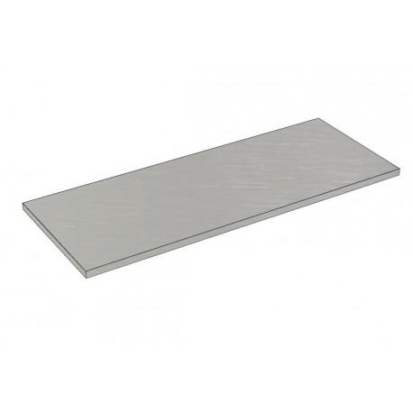 Balda de madera 90x35cm grosor 19mm, color gris