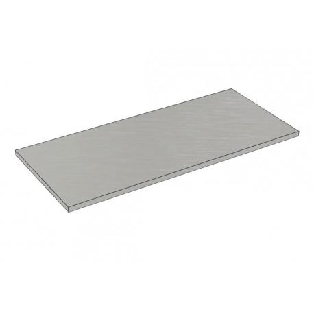 Balda de madera 90x40cm grosor 19mm, color gris