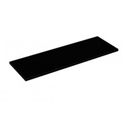 Balda de madera 90x30cm grosor 19mm, color negro