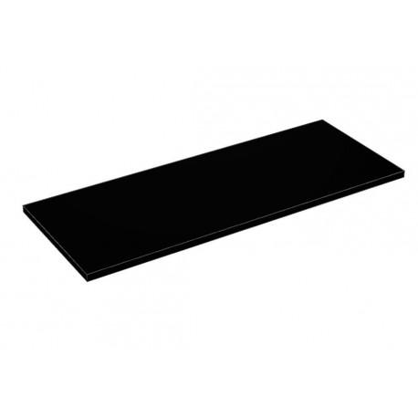 Balda de madera 90x35cm grosor 19mm, color negro