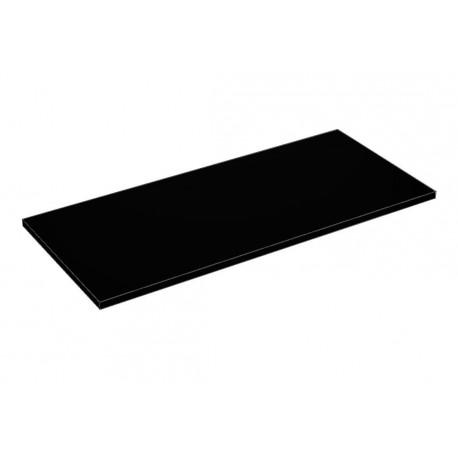 Balda de madera 90x40cm grosor 19mm, color negro