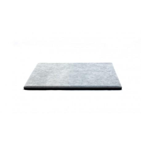 Base expositor para joyeia en terciopelo gris 30x40 cm