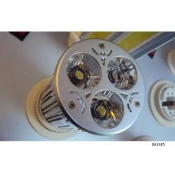Dicroica led 9w mr16 6000k 12v