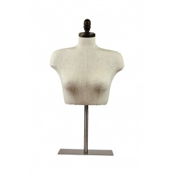 BUSTO SUPERIOR DE MUJER, BASE REGULABLE