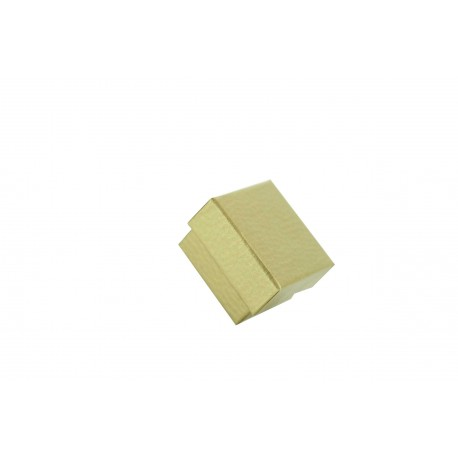 Cajita para joyeria color dorado rugoso 4.5x4x2cm 24 und