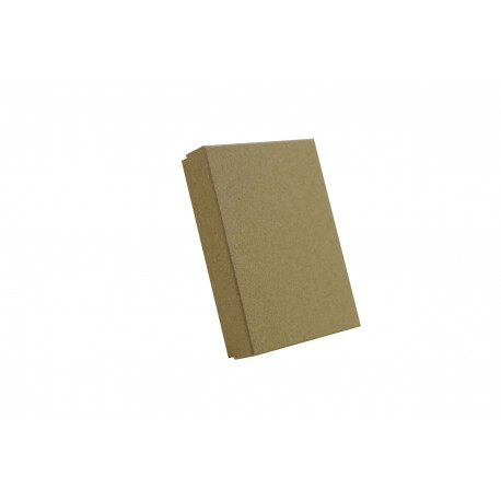 Cajas para joyas cartón beige 12x16x3cm