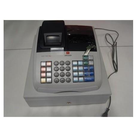 Caja registradora olivetti ecr 7700 plus para tiendas