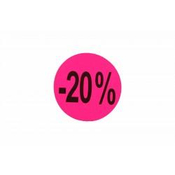 Cartel 20% 30% 50% 70%