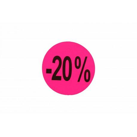 CARTEL -20%,-30%,-50%,-70% (50) pcs