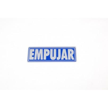 CARTEL EMPUJAR 17.5X6 CM
