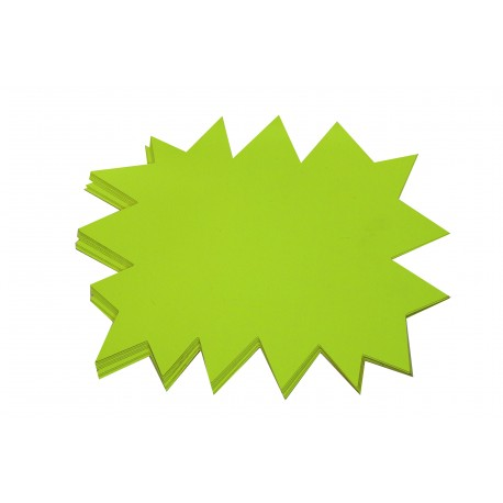 Cartel ofertas reversible amarillo/naranja 24x32cm