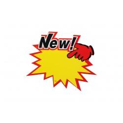 """CARTEL """"NEW"""" PARA OFERTAS"""