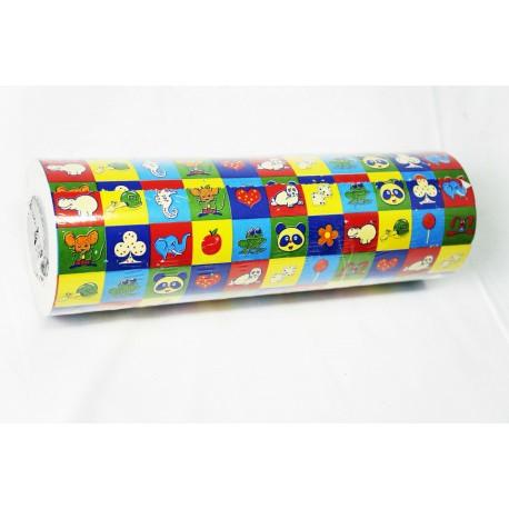 Papel de regalo estampado infantil 31cm