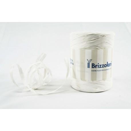 Cinta de rafia para regalos blanco 200 metros