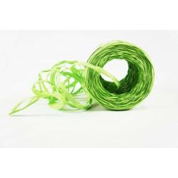 Cintas de rafia para regalos sintética verde pistacho 200 metros