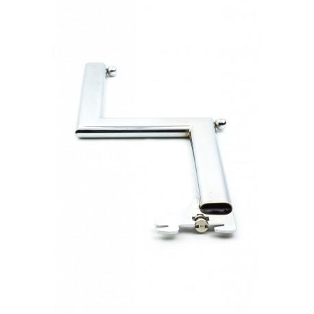 Colgador para cremallera forma Z simple 33cm