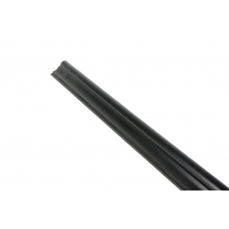 Cornisa para paneles de lamas de MDF de color negro 240cm