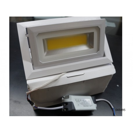 Foco de led empotrable regulable 35W 4000K AC100 265V 50HZ 3400LM IP20