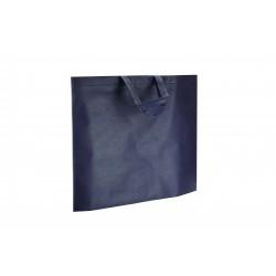 Bolsa de tela asa plana azul marino 49x40cm