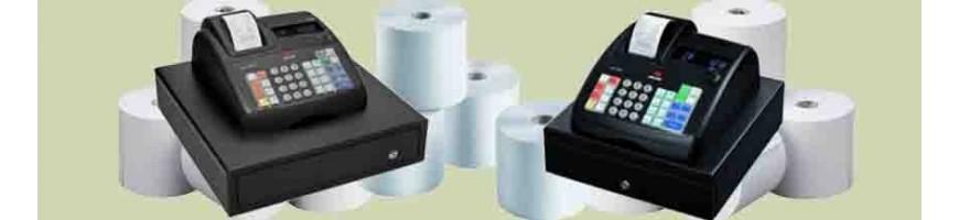 Cajas registradoras y accesorios